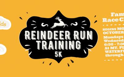 Reindeer Run Training